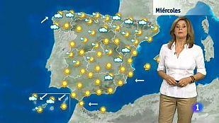 El Tiempo en Extremadura - 05/08/15