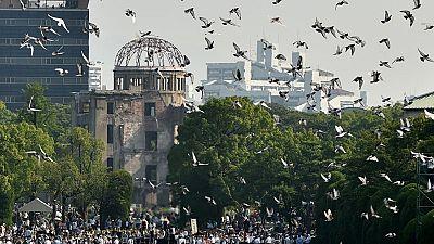 Japón conmemora el 70º aniversario del bombardeo de Hiroshima