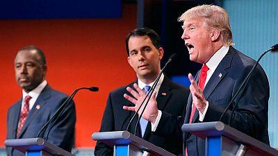 Donald Trump acapara la atención en el primer debate entre candidatos republicanos