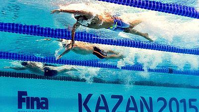 El relevo español 4x200 libre masculino ha obtenido por primera vez en la historia la clasificación olímpica tras nadar en 7:15.80 y rebajar en más de cuatro segundos (7:15.80) el anterior tope nacional.