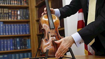 Recuperado un Stradivarius 35 años después de su robo