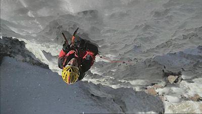 Cecilia Buil, una alpinista en Sudáfrica