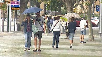 15 provincias están en alerta por fuertes lluvias: lo peor en el pirineo aragonés y catalán