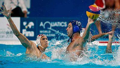 Mundial de Natación de Kazán - Waterpolo.  Final Masculina: Croacia - Serbia - ver ahora