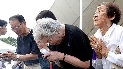 Nagasaki recuerda los 70 años del ataque atómico