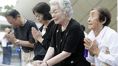 Japón promete mantener los principios antinucleares  en el aniversario de la bomba de Nagasaki