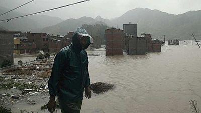 El tifón Soudelor deja a su paso por China 9 muertos y 3 desaparecidos