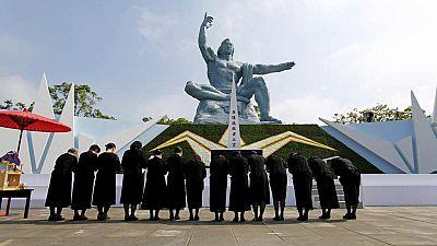 Se cumplen 70 años del lanzamiento de la bomba atómica sobre Nagasaki