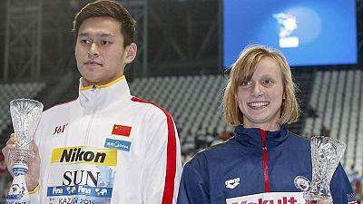 Ledecky, Sun y las otras figuras del Mundial de Natación