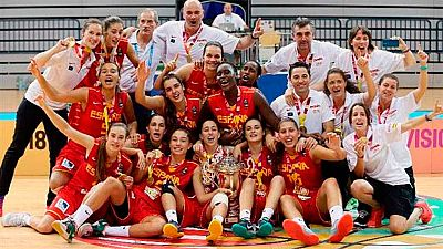 La selección española sub-18 ha conseguido un triunfo más para el baloncesto femenino en nuestro país, al derrotar en la final del Europeo a Francia por 60-76.