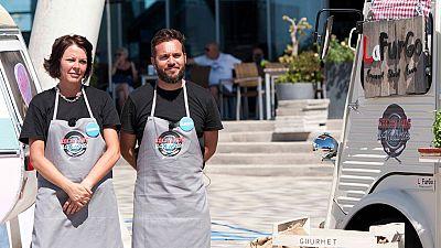 Cocineros al Volante - La Furgo Gourmet, sexta pareja eliminada de Cocineros al Volante
