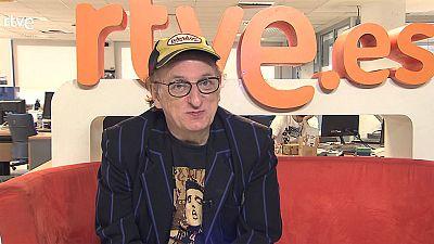 Javier Gurruchaga visita RTVE.es