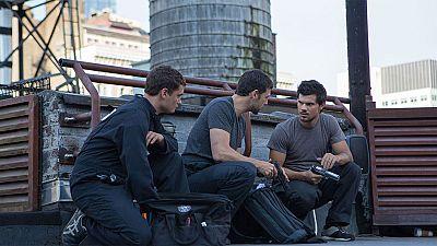 Cam (Taylor Lautner, actor conocido por la sala Crep�sculo) es un mensajero que recorre las calles de New York montado en bicicleta y que de pronto, se ve perseguido por la mafia.
