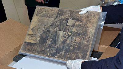 """La peluquera"" de Picasso vuelve al Centro de Arte Pompidou"