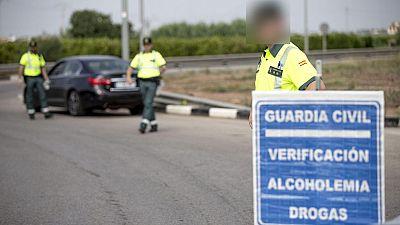 Tráfico intensifica estos días sus controles de alcohol y drogas