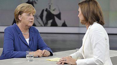 Merkel rechaza una quita de la deuda griega aunque apoya otras medidas que permitan a Grecia reducir su endeudamiento