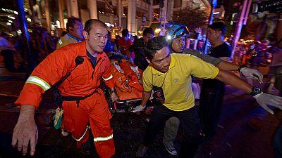 Un atentado con bomba en Bangkok deja 19 muertos y 120 heridos