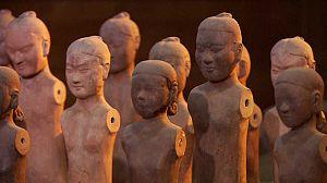 Los guerreros desnudos de terracota