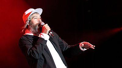 El músico reggae judío hasídico Matthew Paul Miller, conocido como Matisyahu