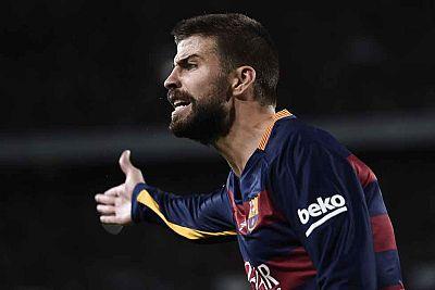 Piqué es sancionado con cuatro partidos tras su expulsión en la Supercopa