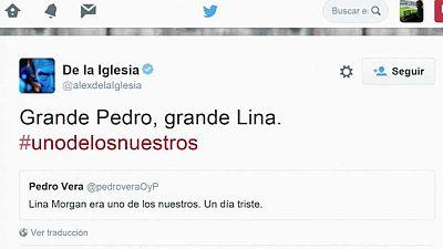 La muerte de Lina Morgan, lo más comentado en las redes sociales a nivel mundial