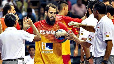 La selección española de baloncesto se mide este sábado con Macedonia en el Madrid Arena en un encuentro en la capital que suele suponer el punto de partida para calibrar el estado del combinado nacional antes de un gran torneo, una estación crucial