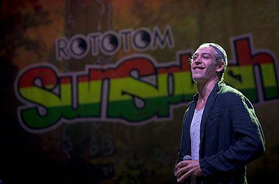 Matisyahu actuó finalmente anoche en el festival Rototom, en Benicassim