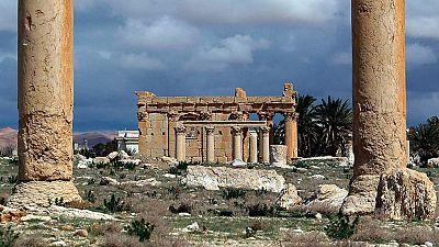 El Estado Islámico destruye el templo de Baal en Palmira