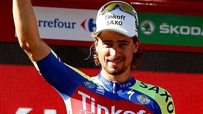 Peter Sagan gana en Málaga, Chaves sigue líder