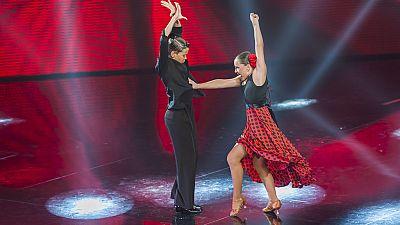 Insuperables - Quim y Mónica interpretan un baile flamenco de lo más emocionante