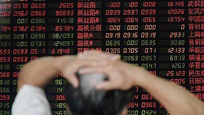 Las Bolsas chinas cierran con pérdidas una jornada muy volátil