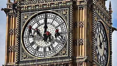 El Big Ben ya no da la hora exacta