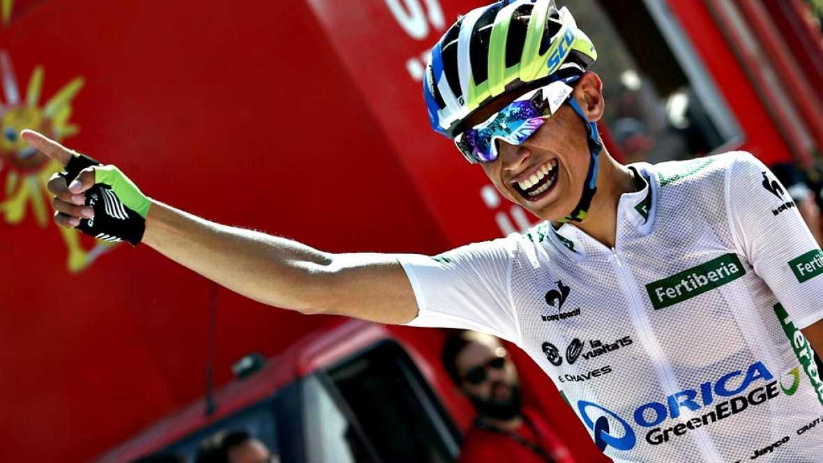 Esteban Chaves vuelve a ganar y recupera el liderato