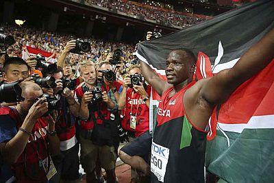 Kenia, protagonista en el Mundial de Pekín