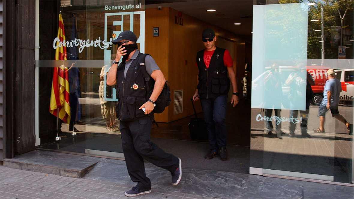 La Guardia Civil registra la sede de CDC y su fundaci�n en una investigaci�n por presunto cobro de comisiones