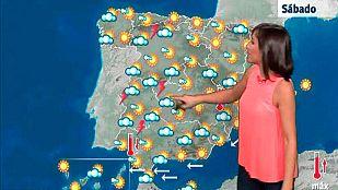 Altas temperaturas en centro, suroeste peninsular y valle del Ebro