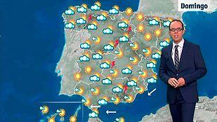 Catorce provincias en alerta meteorológica por calor y Cádiz por viento