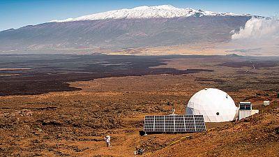 La NASA ensaya en Hawái la vida en Marte