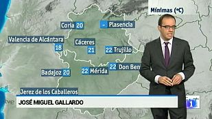 El tiempo en Extremadura - 31/08/15