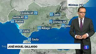 El tiempo en Andalucía-31/08/2015
