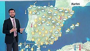 Tormentas en el noreste y bajan las temperaturas