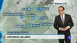 El tiempo en Extremadura - 01/09/15