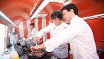 Cocineros al Volante - Pepe, Jordi y Samantha cocinan en un Food Truck en la final de 'Cocineros al Volante'