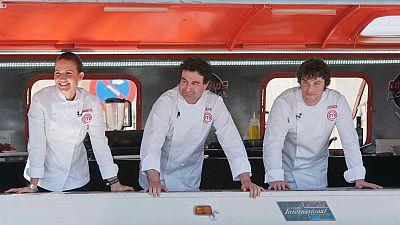 Cocineros al Volante - ¿Qué opina el jurado de MasterChef de los aspirantes de 'Cocineros al Volante'?
