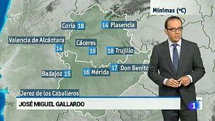 El tiempo en Extremadura - 02/09/15