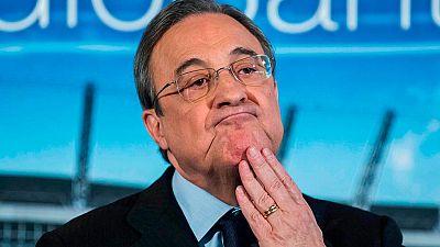 """Florentino Pérez: """"No creo que el United tuviera mala voluntad, les falta experiencia"""""""