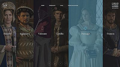 """Conoce los """"mundos"""" de 'Carlos, Rey Emperador' - Ver ahora"""