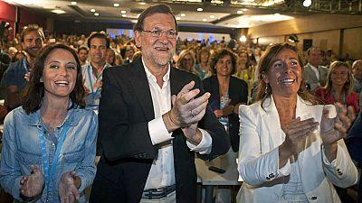 Mariano Rajoy insiste en que el PP es el único que puede garantizar la unidad de España