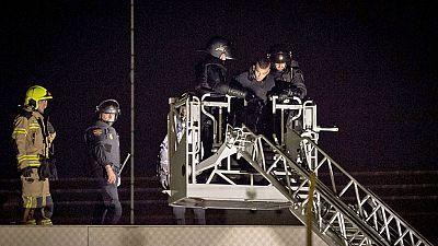 Heridos varios polic�as e internos en el CIE de Valencia en un intento de fuga