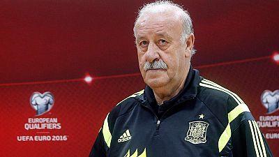 Del Bosque desmiente que no se juegue en el Bernabéu por los pitos a Piqué
